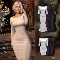 NEW!  Valentina E. May Dress & Gown @ UBER!