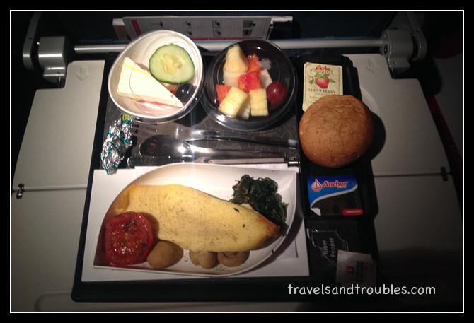 Omelet gevuld met kaas - Turkish Airlines