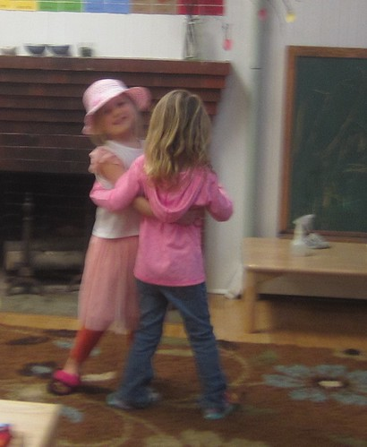 dancing during movement time