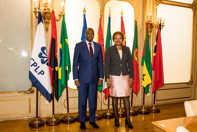 18.04.Joaquim Bule é Representante Permanente de Moçambique na CPLP