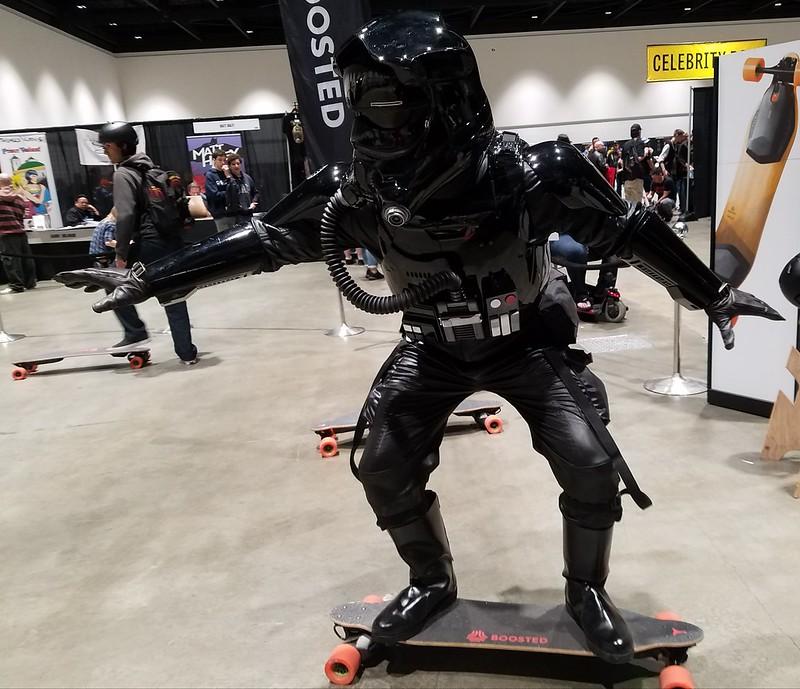 FO TIE Pilot at Silicon Valley Comic Con