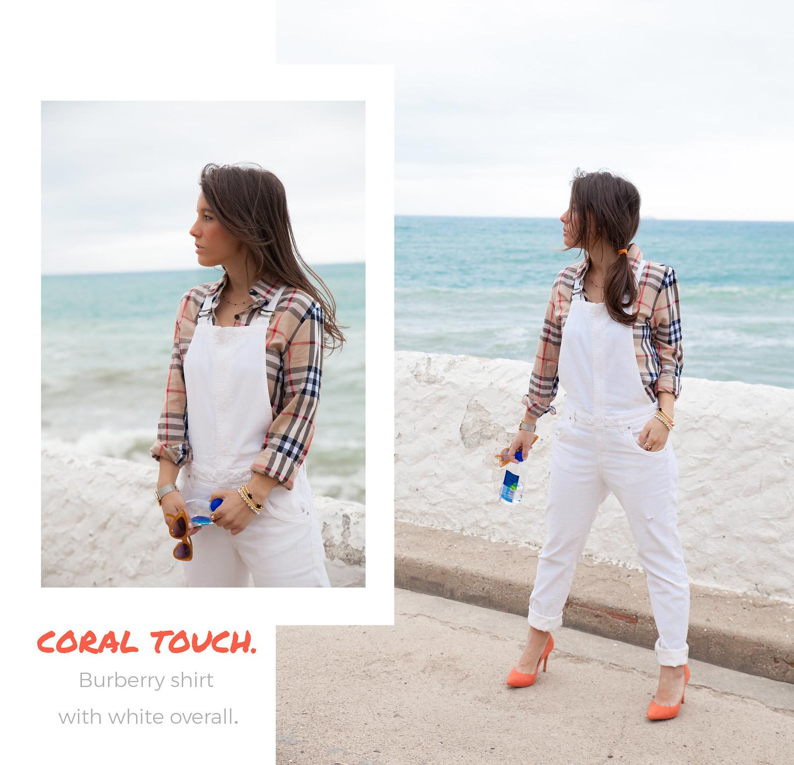 06_Burberry_Outfit_White_overall_Combinar_peto_con_tacones_mas34_theguestgirl_influencer_barcelona