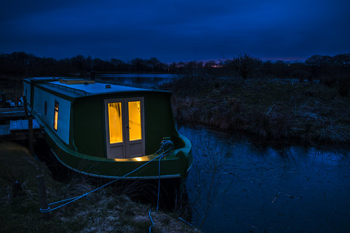 Blagdon blue hour | by 1 other people