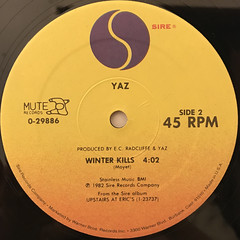 YAZ:DON'T GO(LABEL SIDE-B)