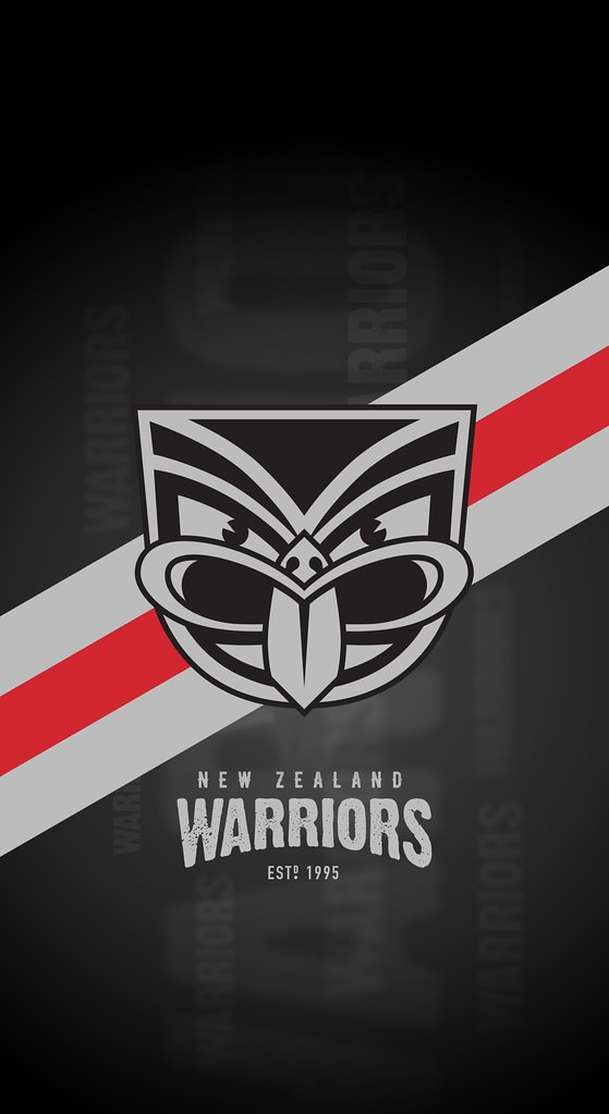 New Zealand Warriors IPhone X Lock Screen Wallpaper