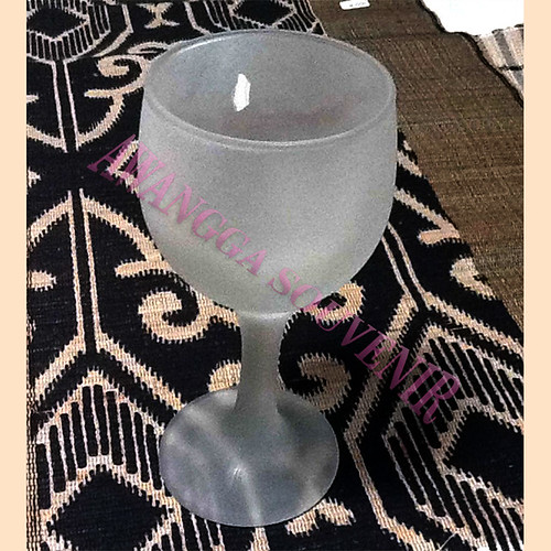 gelas wine fros tanggung