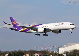 F-WZGE Airbus A350 Thai