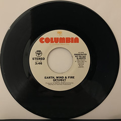 EARTH, WIND & FIRE:GETAWAY(RECORD SIDE-A)