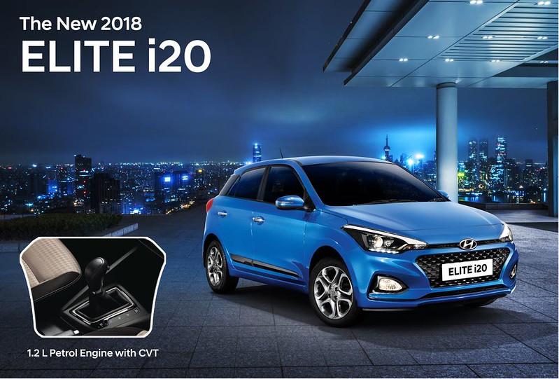 2018 Hyundai Elite i20 Automatic