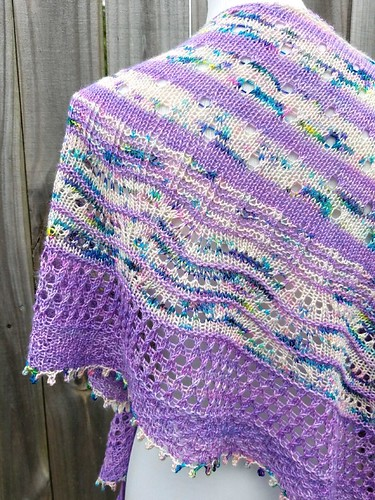 Local Yarn Shawl designed by Casapinka for LYS Day will be available for free with yarn purchase #lysday2018 #localyarnshawl #localyarnstore