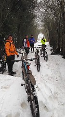 Nothing puts Winchcombe mtb'ers off!!!