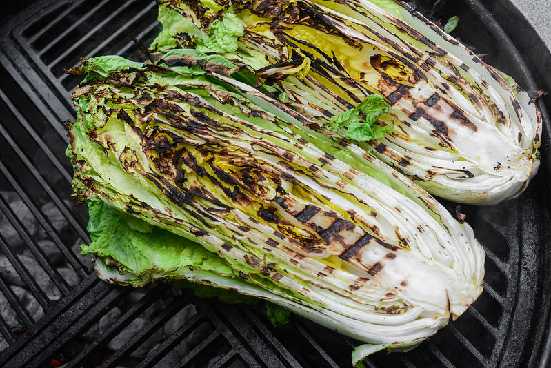 Grilled Kimchi