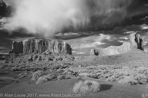 landscape ir oljatomonumentvalley arizona unitedstates us