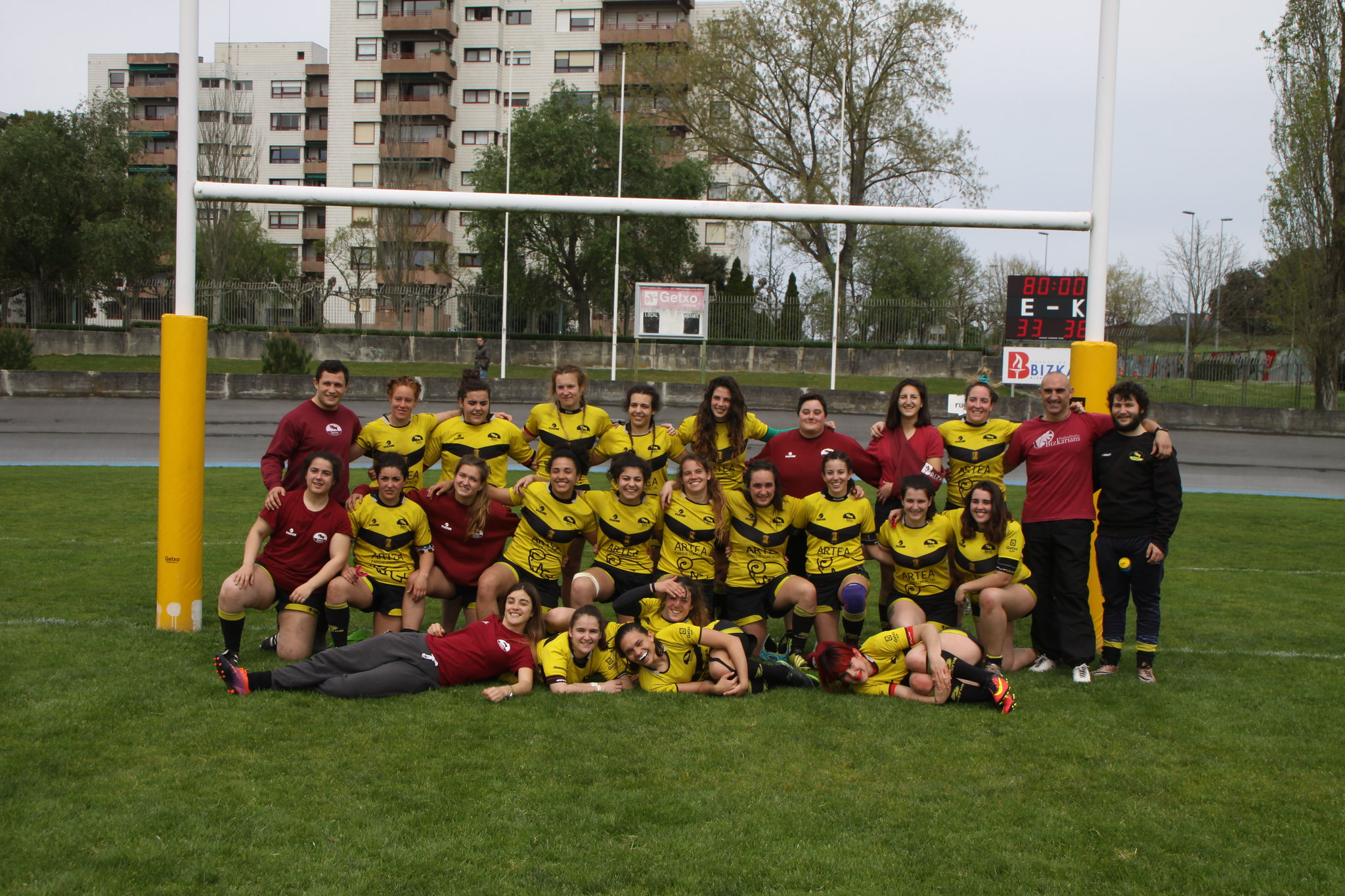 Getxo Rugby Taldea - Sanse Scrum partidua (2018-IV-08)