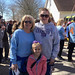 April 22, 2018. Walk to raise awareness of Multiple Sclerosis put on by the National Multiple Sclerosis Society.
