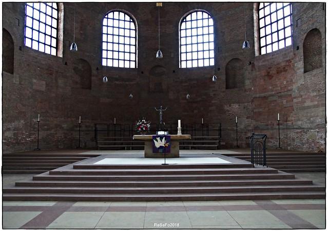 Trier - Konstantin Basilika, Sony SLT-A58, Tamron SP AF 17-50mm F2.8 XR Di II LD Aspherical [IF]