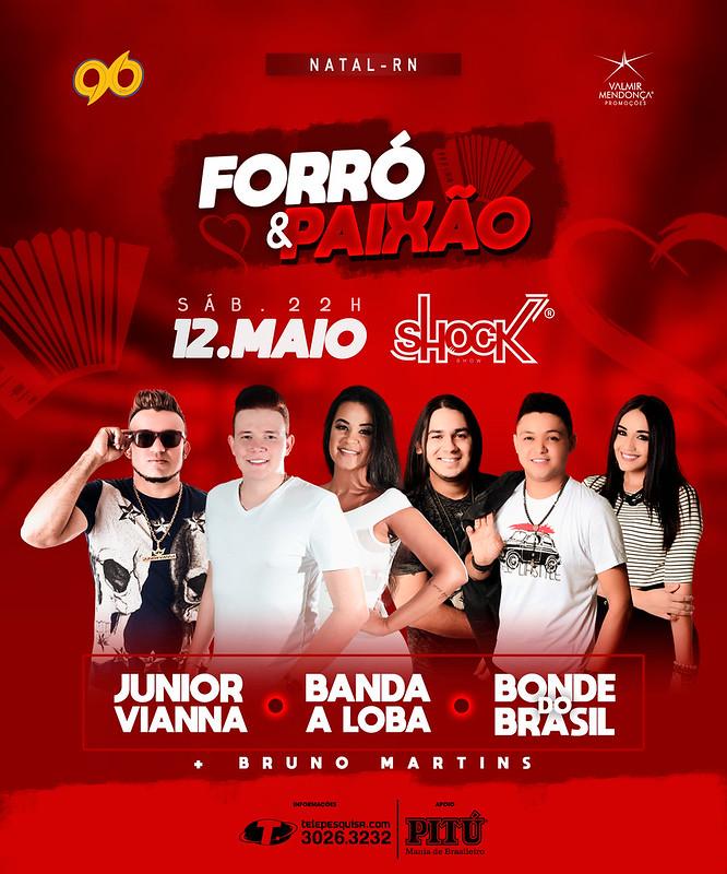 Forró e Paixão - Shock Show - 12.Maio-01