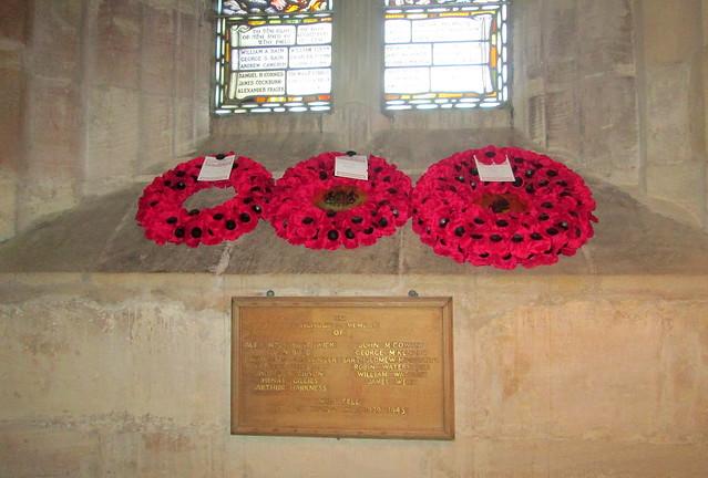 World War 2 Memorial, Crichton Collegiate Kirk