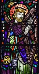 King David (Margaret Agnes Rope for East Bergholt Convent, Suffolk, 1928)