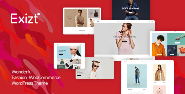 Exizt v1.0.3 - Fashion WooCommerce WordPress Theme