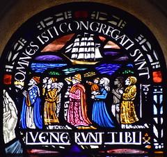 omnes isti congregati sunt (Margaret Agnes Rope for East Bergholt Convent, Suffolk, 1928)