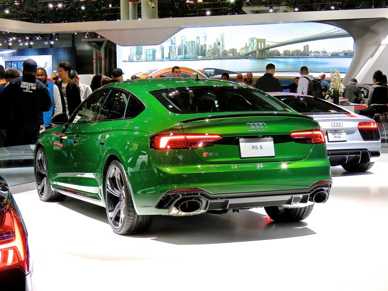 Audi RS5 Sportback NYIAS 5