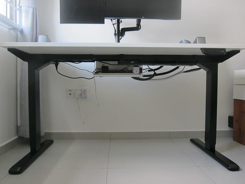 ErgoEdge AmpDesk Standing Desk - Lower