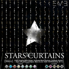 E.V.E Stars Curtain Vendor Flickr