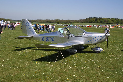 G-OTYE Evektor EV-97 [PFA 315-13858] Popham 050518