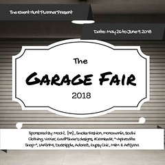 THE GARAGE FAIR OPEN NOW