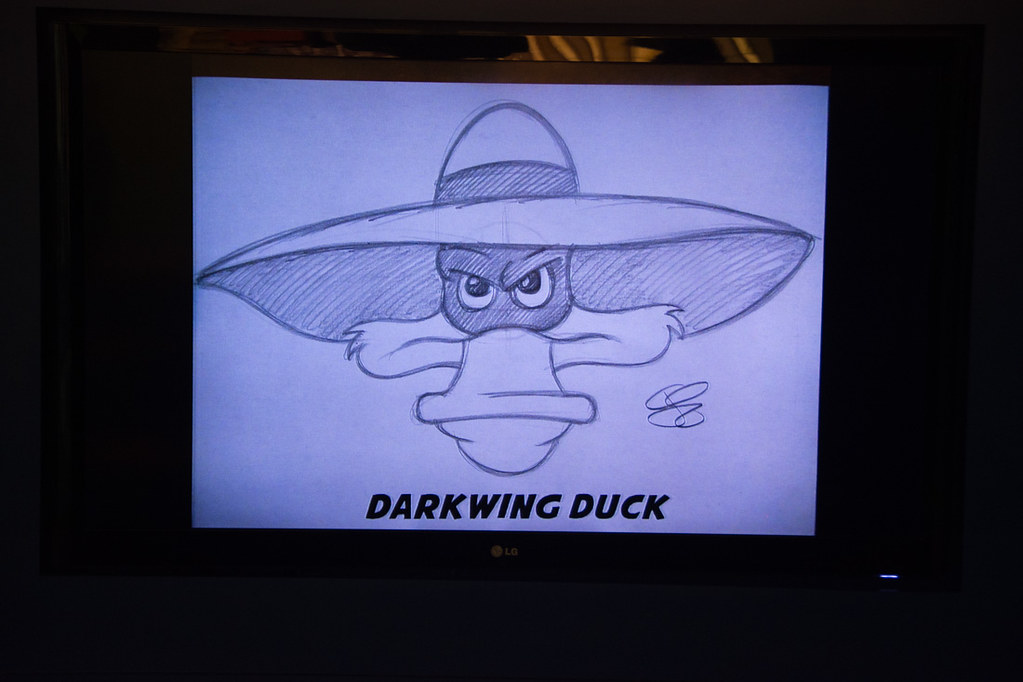 Darkwing Duck Drawing