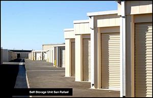 Self Storage Unit Near San Rafael