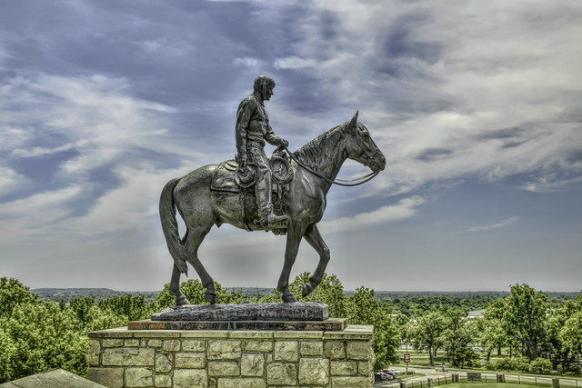 Will Rogers riding horse hdr