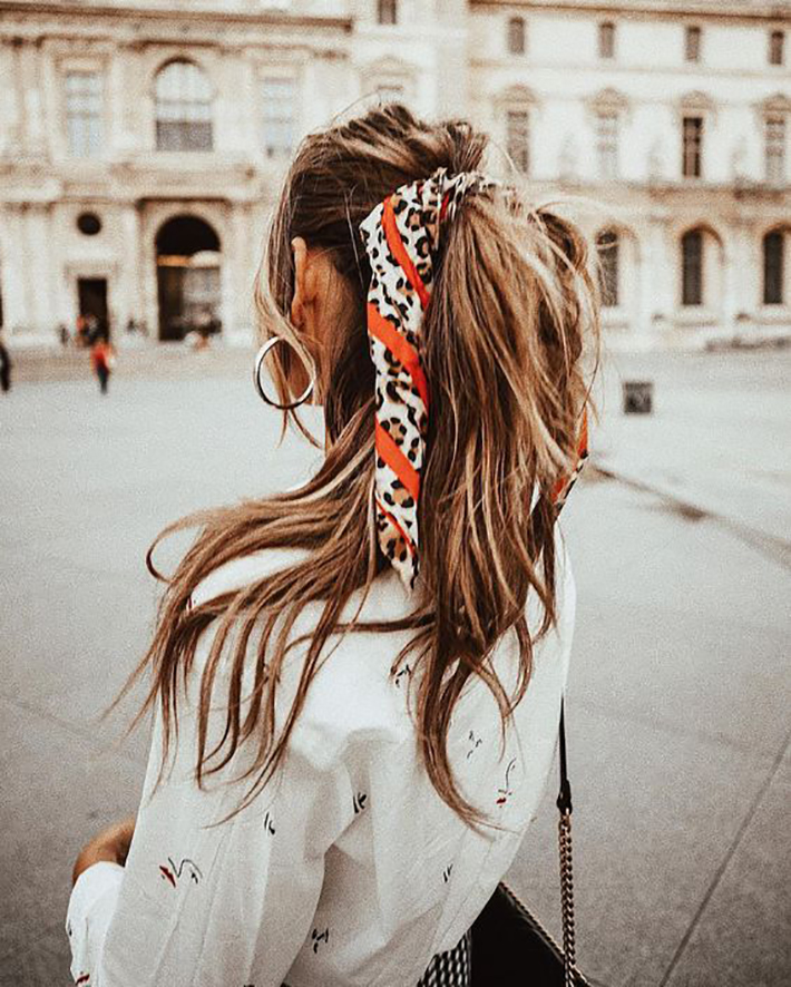 Cool Summer Hairstyles With Scarfs trend 2018 style fashion tendencias2