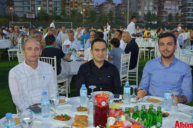 Serkan Akbaba, Yasin Emre, Mustafa Toklu