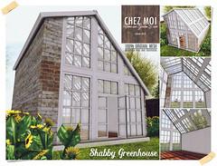 Shabby Greenhouse CHEZ MOI