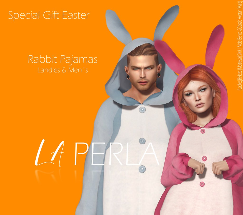 {LP} – Rabbit Pajamas Men's and Ladies