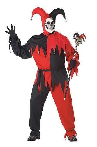 Мужской карнавальный костюм Красный шут