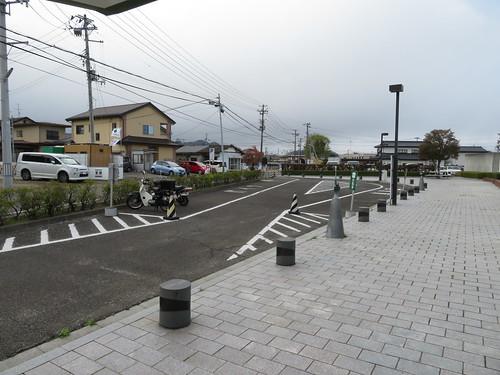 福島競馬場の東口付近