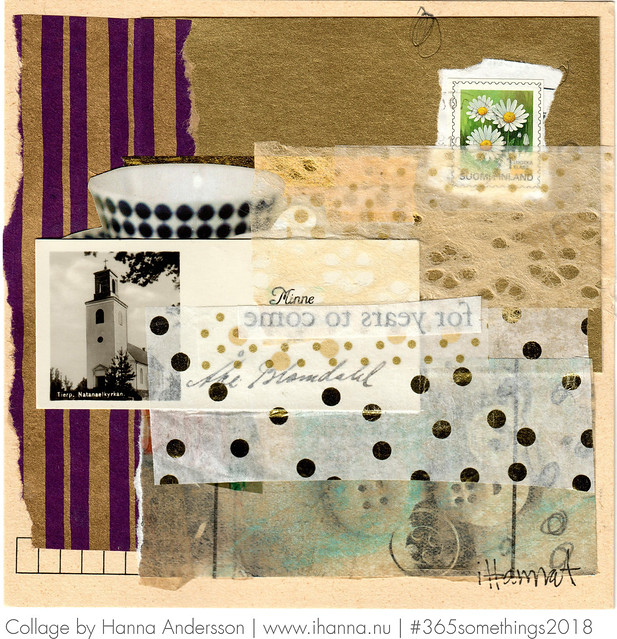 The Golden Start - leftover from week 1 - Collage no 128 of 365 by iHanna #3365somethings2018