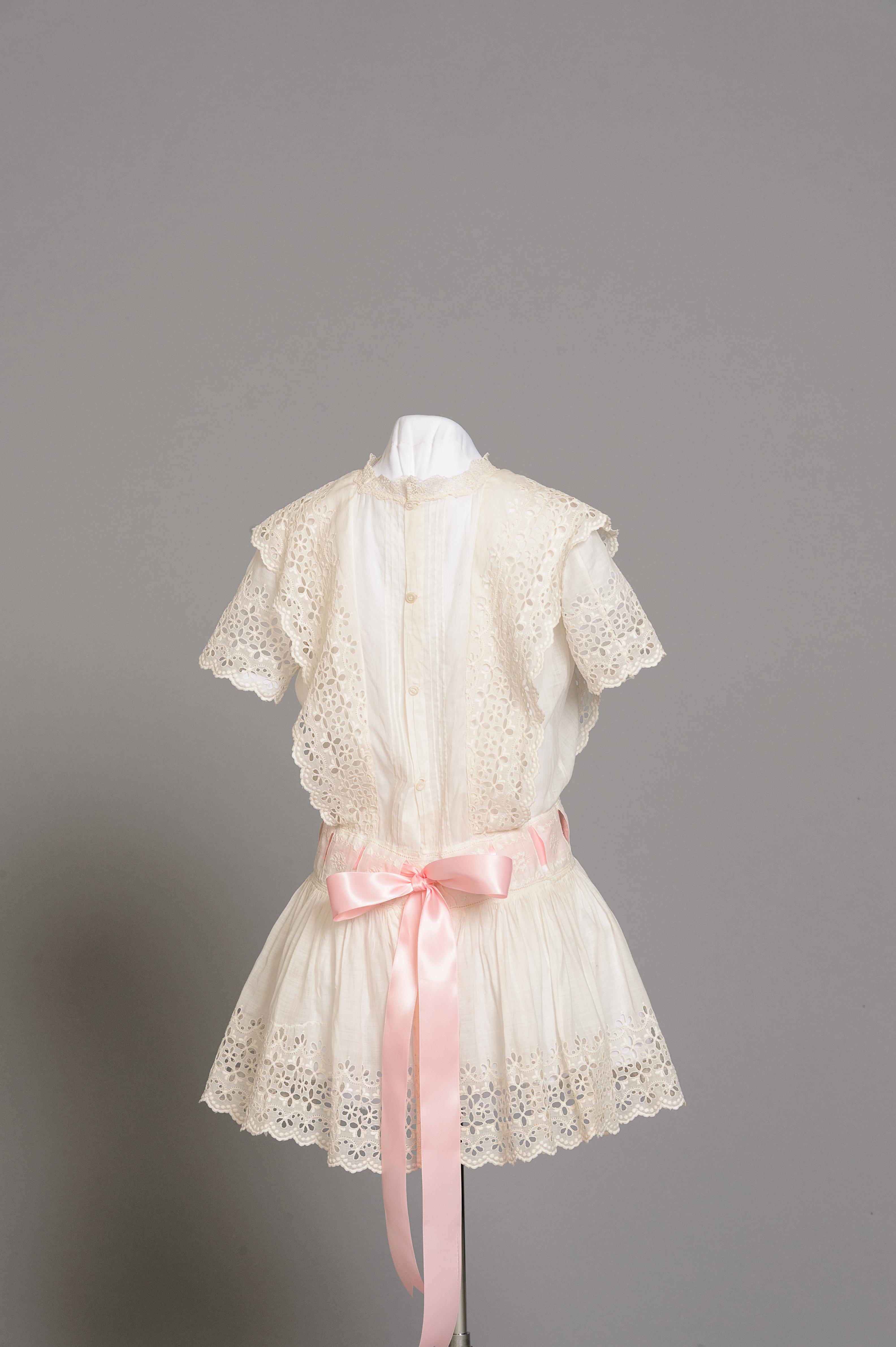 Fashion and Satire: Cotton Child's Dress