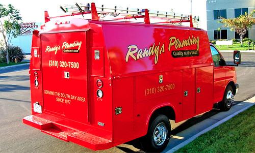 Randys Plumbing Supervan