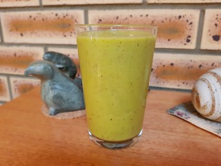 Peachy Keen Green Smoothie