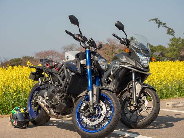 MT-09&400X