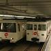 Creuament de un 2100 i un 1100 a la linia 4.