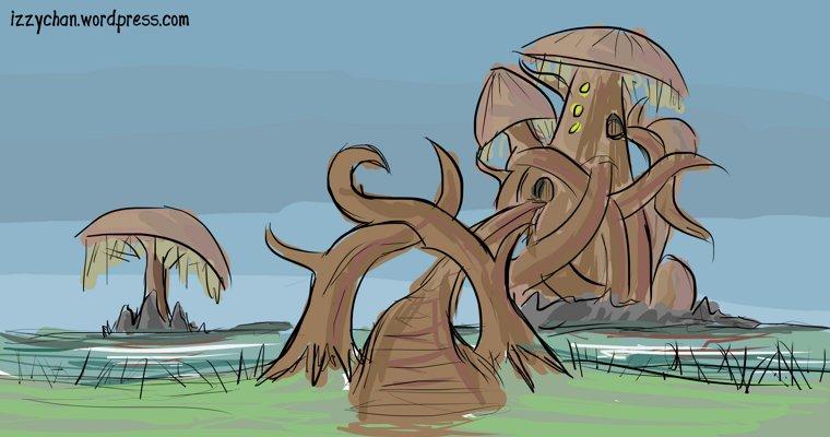 morrowind wizard mushroom tower