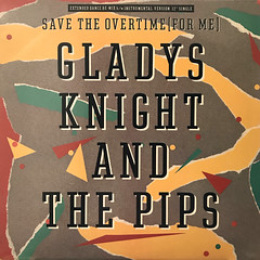 GLADYS KNIGHT AND THE PIPS:SAVE THE OVERTIME(FOR ME)(JACKET A)
