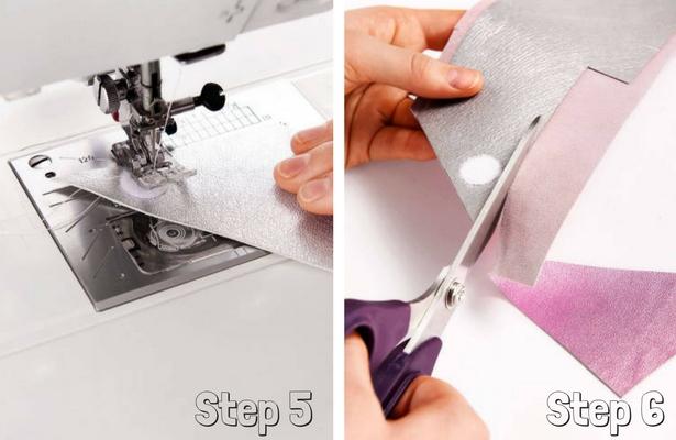 DIY Pencil Case Steps 5 6