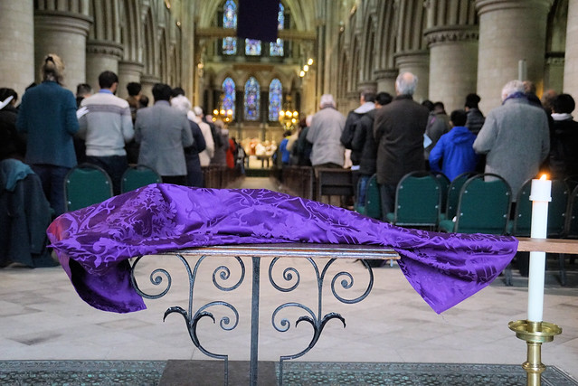 Solemn Liturgy of the Passion, St John's Cathedral Norwich, March 18