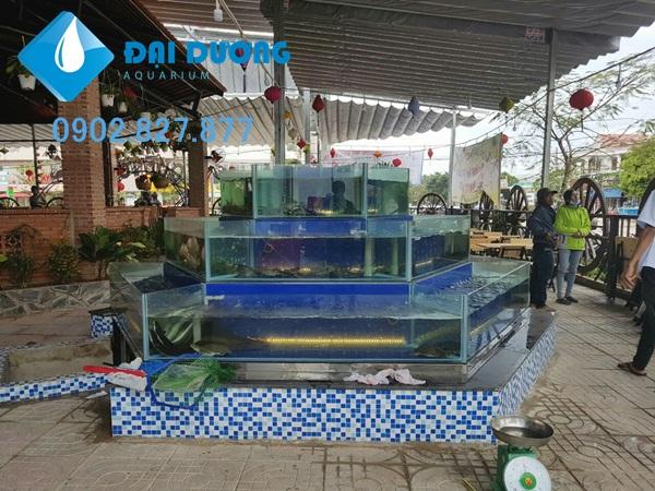 hệ thống dàn chứa hải sản 6 mặt